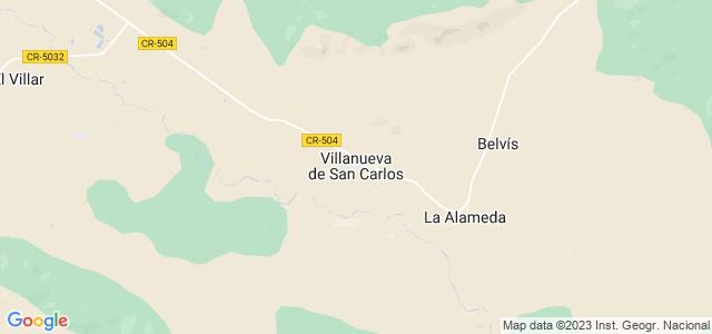 Mapa de Villanueva de San Carlos