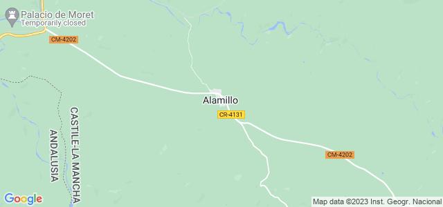 Mapa de Alamillo