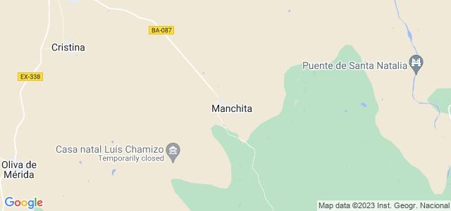 Mapa de Manchita