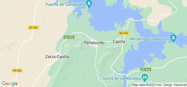 Mapa de Peñalsordo
