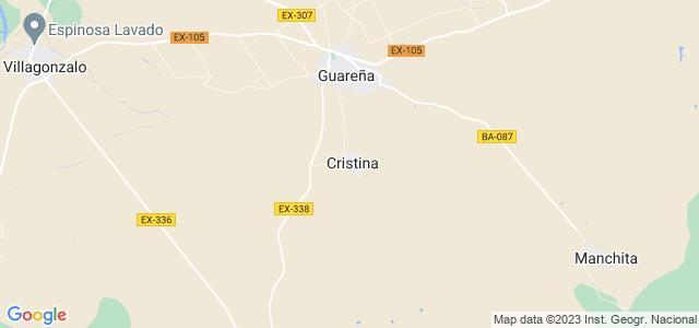 Mapa de Cristina