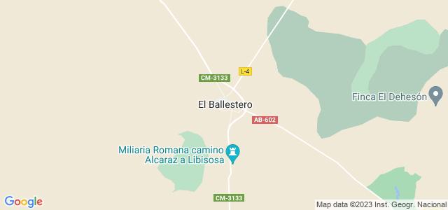 Mapa de Ballestero