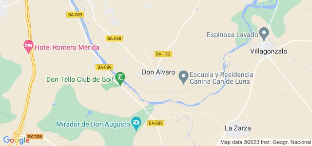 Mapa de Don Álvaro
