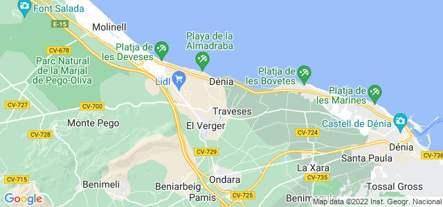 Mapa de Poblets