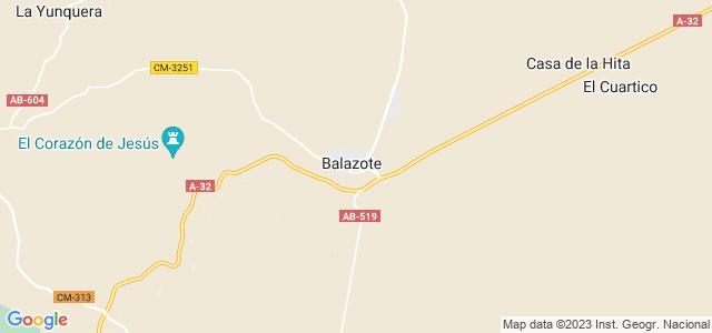 Mapa de Balazote