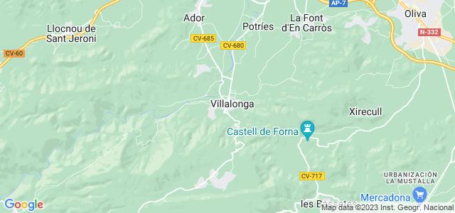 Mapa de Villalonga