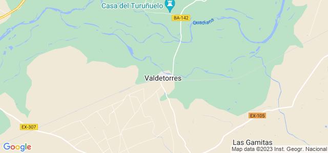 Mapa de Valdetorres