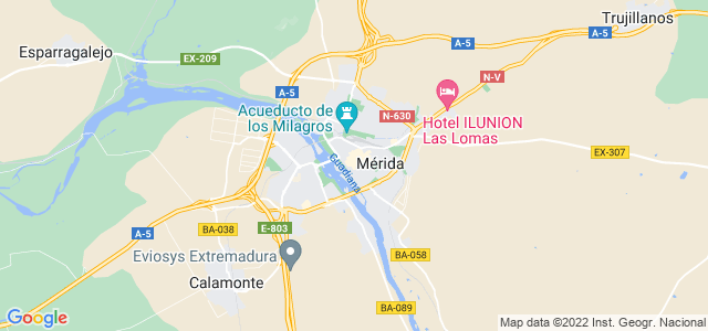 Mapa de Mérida