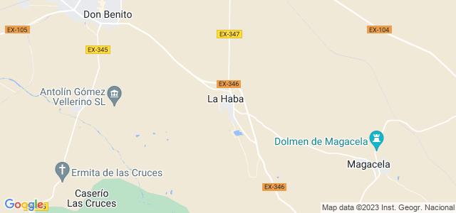 Mapa de Haba