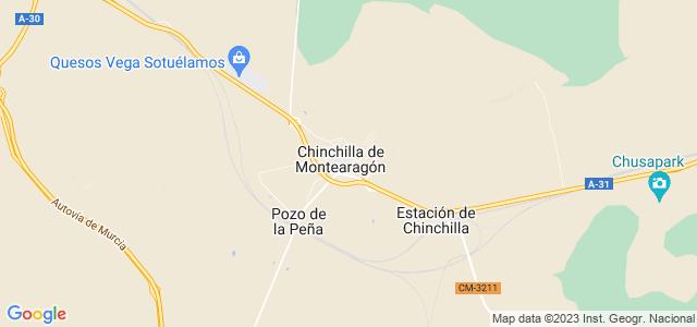 Mapa de Chinchilla de Monte-Aragón