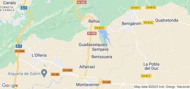 Mapa de Guadasequies