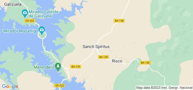 Mapa de Sancti-Spíritus