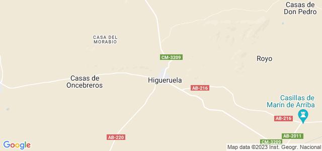 Mapa de Higueruela