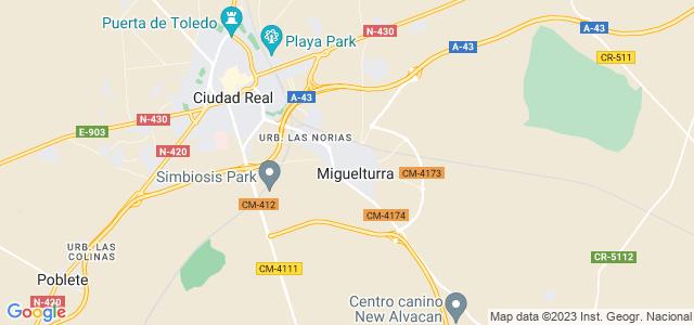 Mapa de Miguelturra