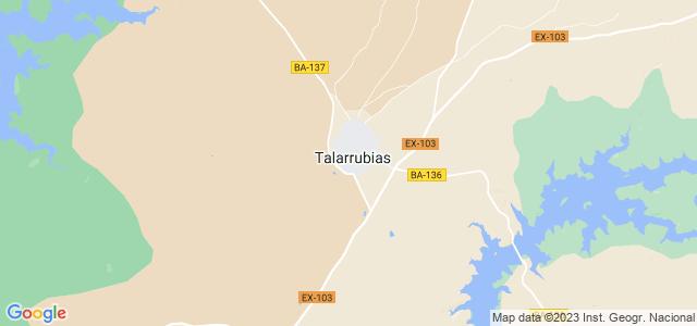 Mapa de Talarrubias