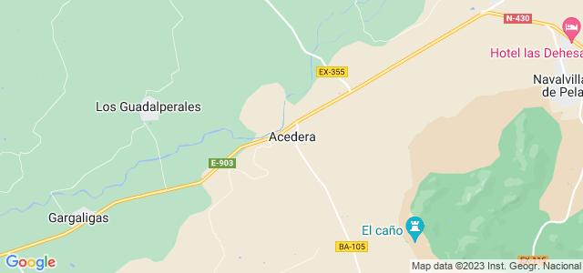 Mapa de Acedera