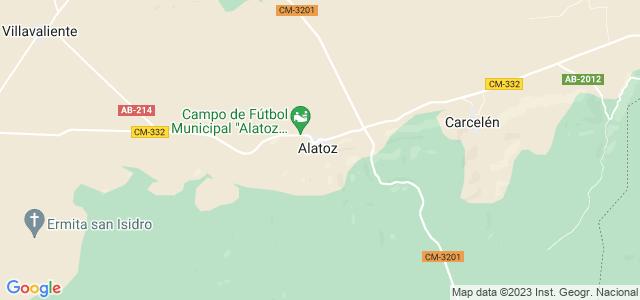 Mapa de Alatoz