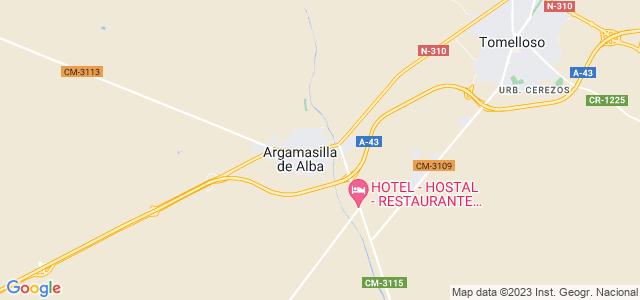 Mapa de Argamasilla de Alba