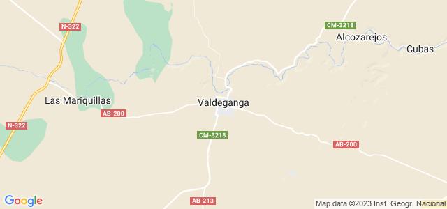 Mapa de Valdeganga