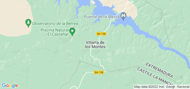 Mapa de Villarta de los Montes