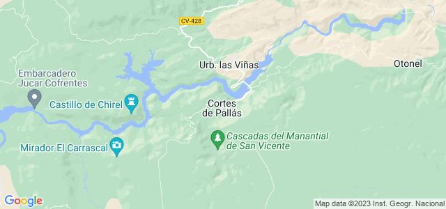 Mapa de Cortes de Pallás