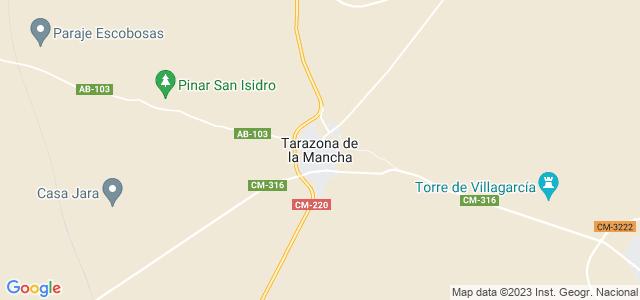 Mapa de Tarazona de la Mancha