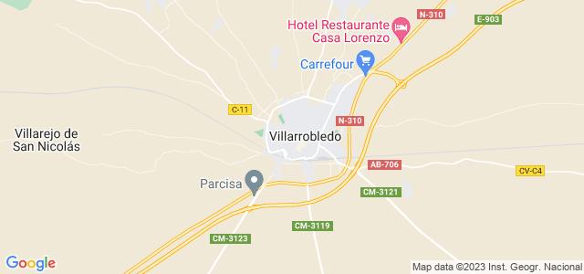 Mapa de Villarrobledo