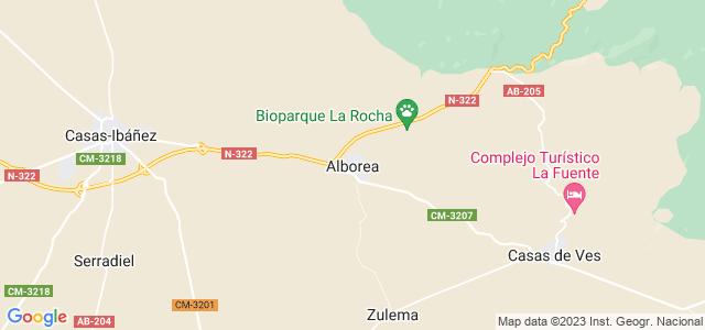 Mapa de Alborea