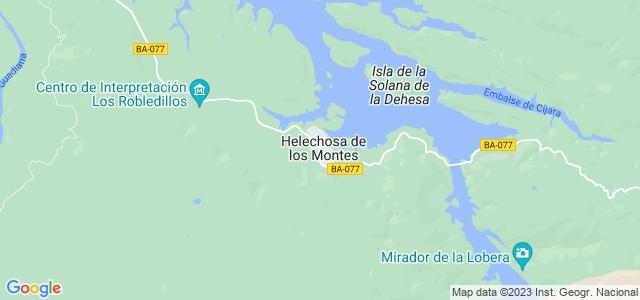 Mapa de Helechosa de los Montes