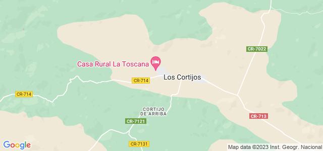 Mapa de Cortijos