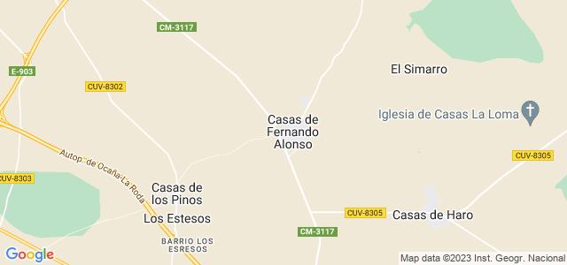 Mapa de Casas de Fernando Alonso