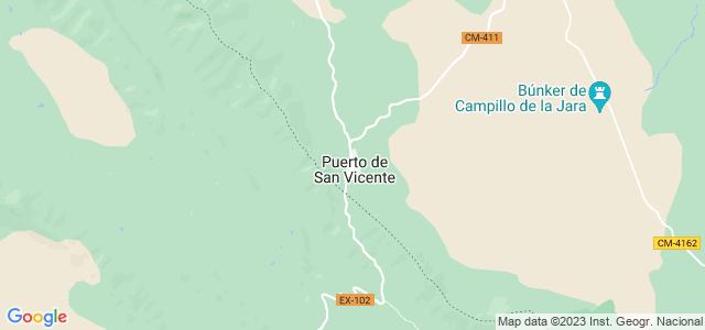 Mapa de Puerto de San Vicente