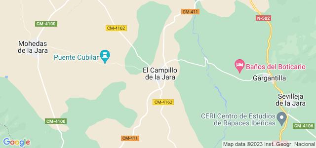 Mapa de Campillo de la Jara