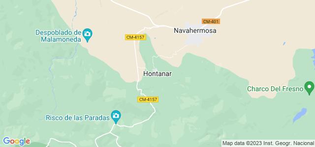 Mapa de Hontanar