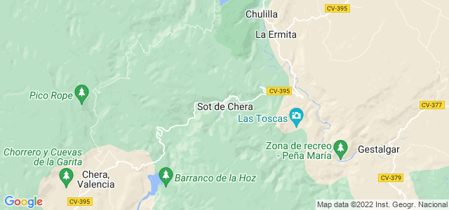 Mapa de Sot de Chera