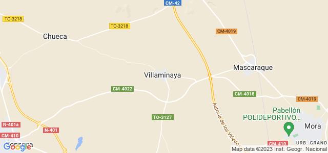 Mapa de Villaminaya