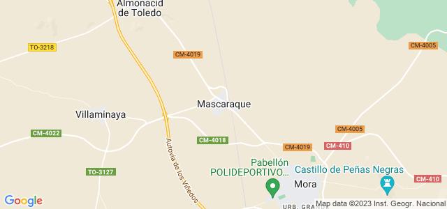 Mapa de Mascaraque