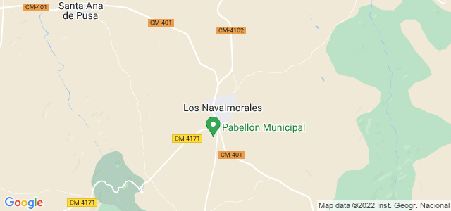 Mapa de Navalmorales