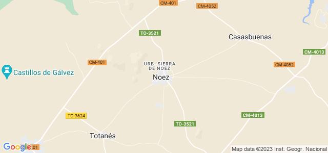 Mapa de Noez