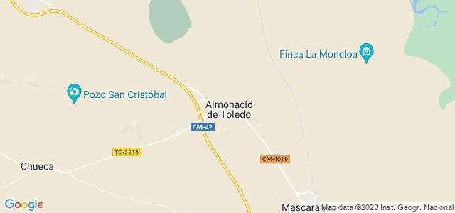 Mapa de Almonacid de Toledo