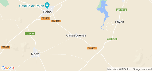 Mapa de Casasbuenas