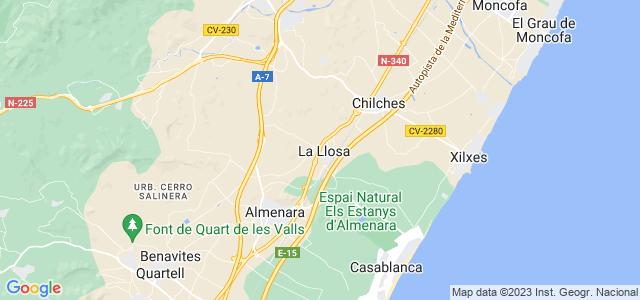 Mapa de Llosa