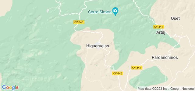 Mapa de Higueruelas