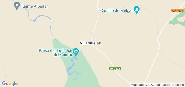 Mapa de Villamuelas