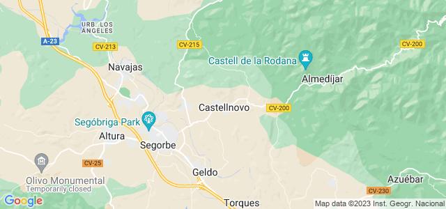 Mapa de Castellnovo