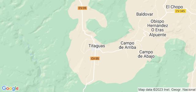 Mapa de Titaguas