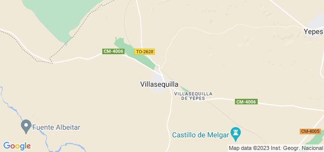 Mapa de Villasequilla