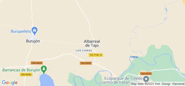 Mapa de Albarreal de Tajo