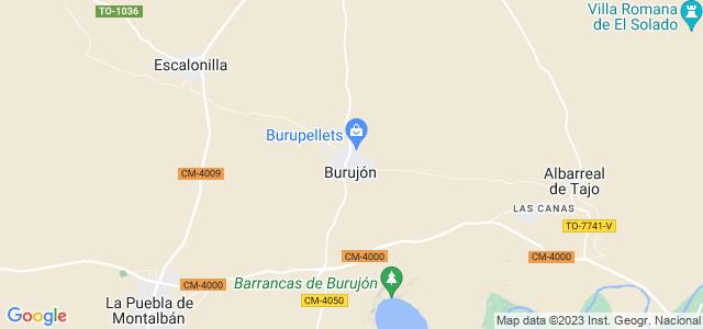 Mapa de Burujón