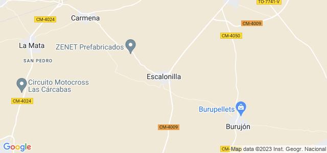 Mapa de Escalonilla